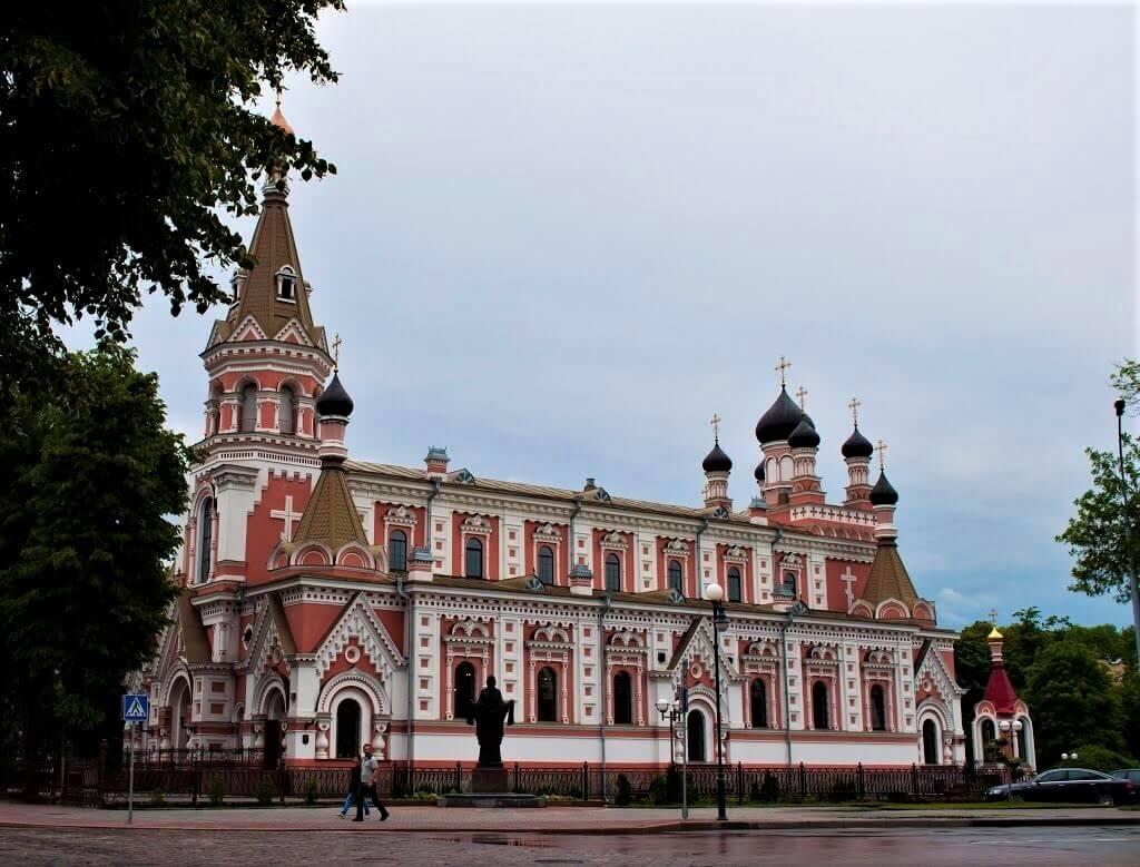 St. Pokrovskij Orthodox Cathedral in Grodno