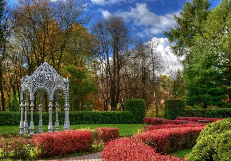 Botanical garden in Minsk, third largest in Europe