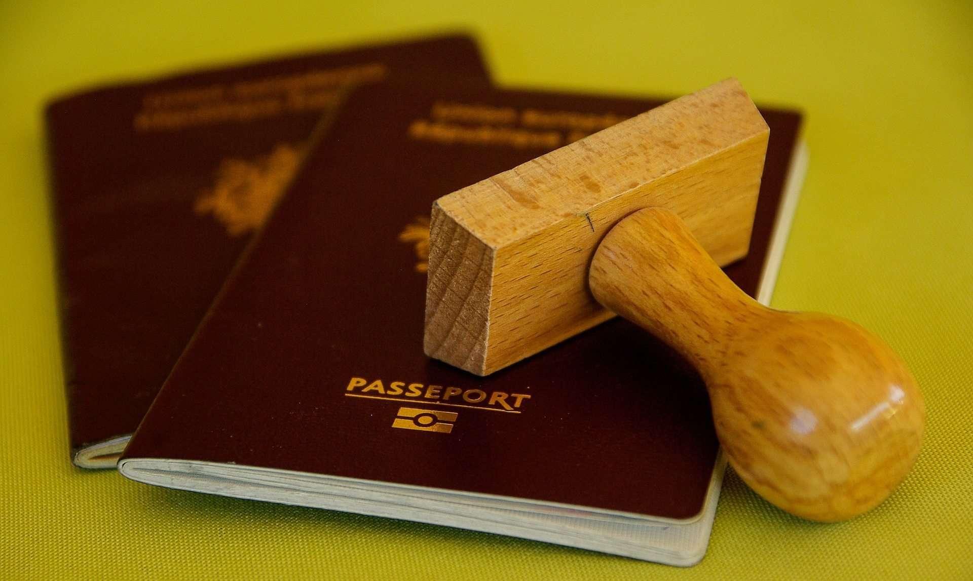 Паспорт с печатью