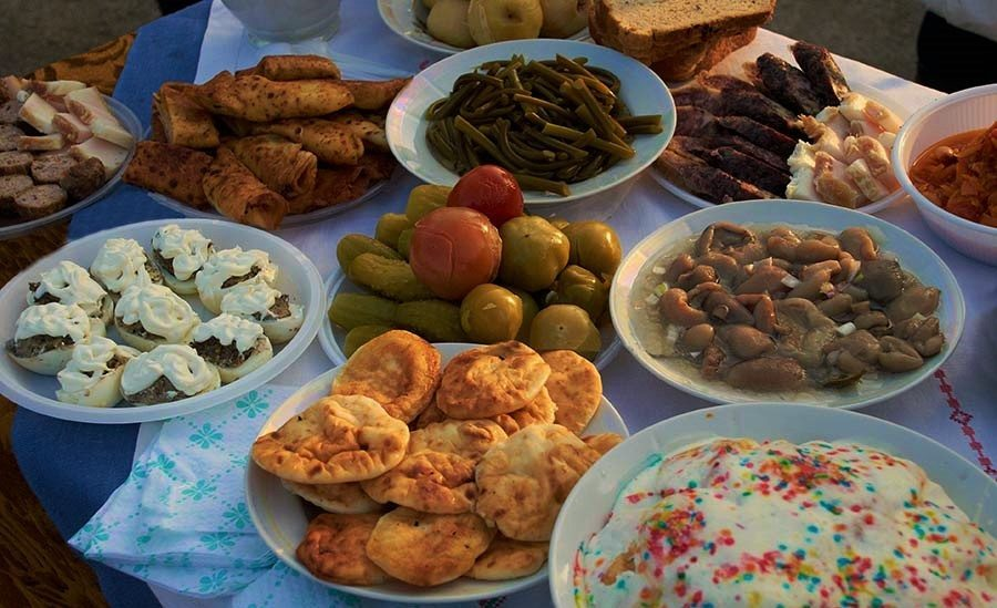 Belarusian cuisine. National cuisine