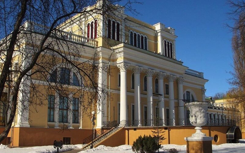 Rumiantsev-Paskevich palace in Gomel