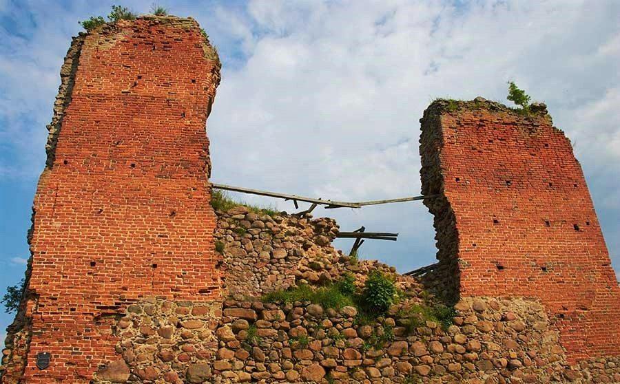 Kreva castle ruins, Belarus