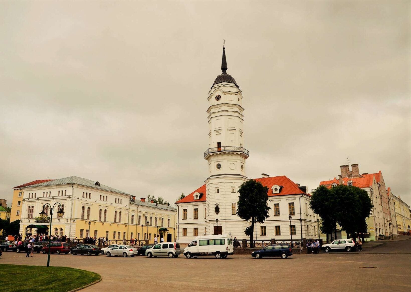 Mogilev main square