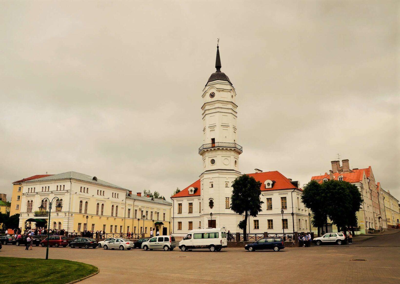 Mogilev main square