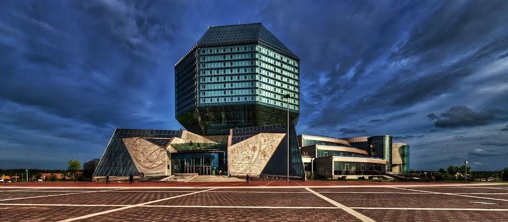 Belarusian National Library in Minsk