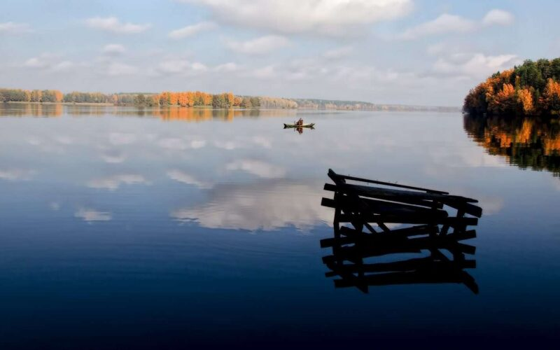 Big lake you should visit in Belarus in summer, national park