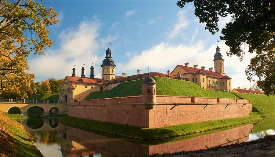 Whole Nesvizh castle, Belarus
