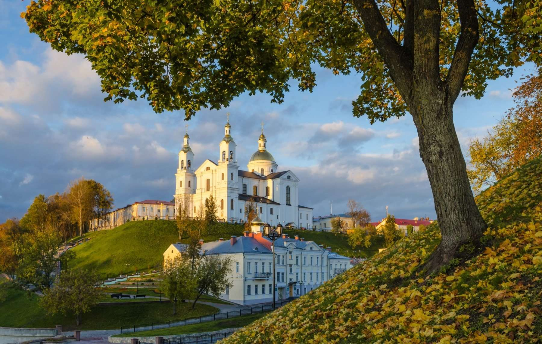 Polotsk: attractions with a map and photo