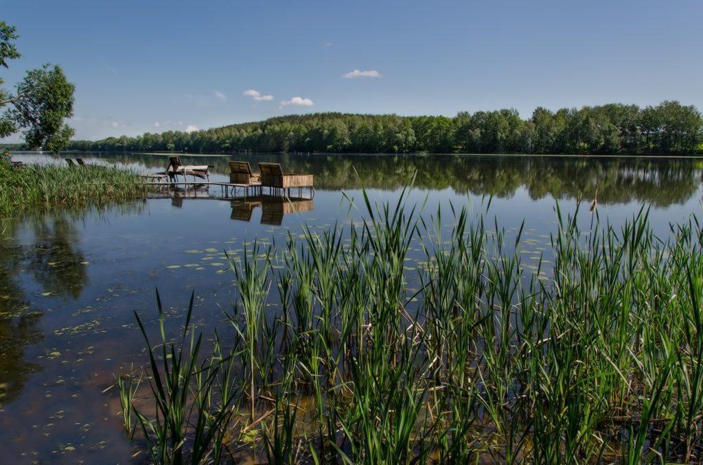 fishing on Svisloch river near minsk