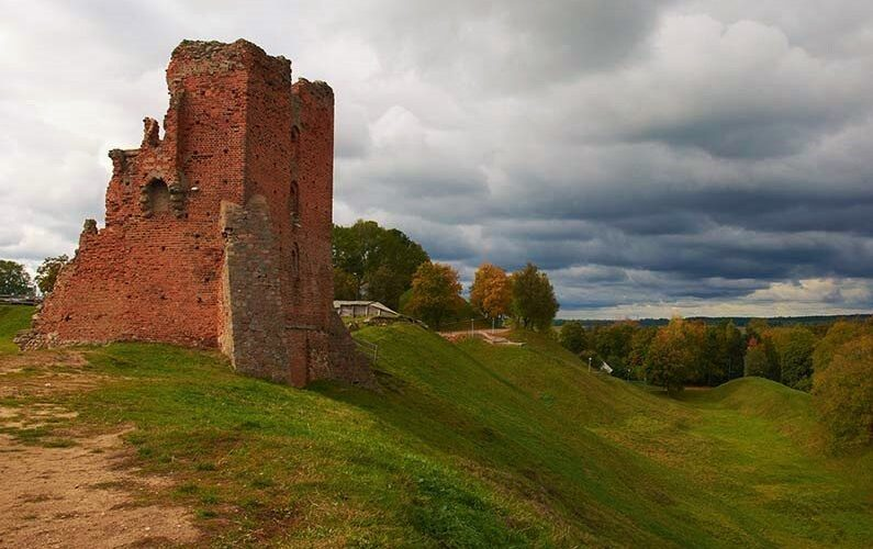 Novogrudok castle remnants