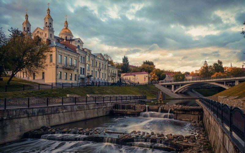 Река Витьба в Витебске