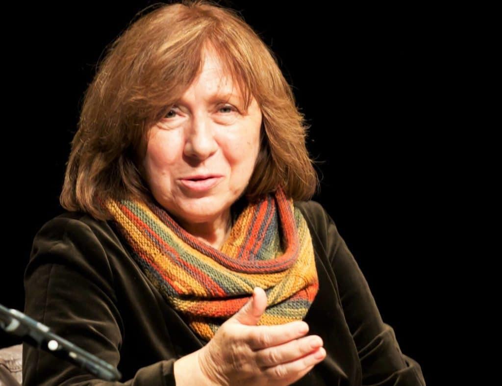 Светлана Алексиевич, Нобелевский лауреат Беларуси