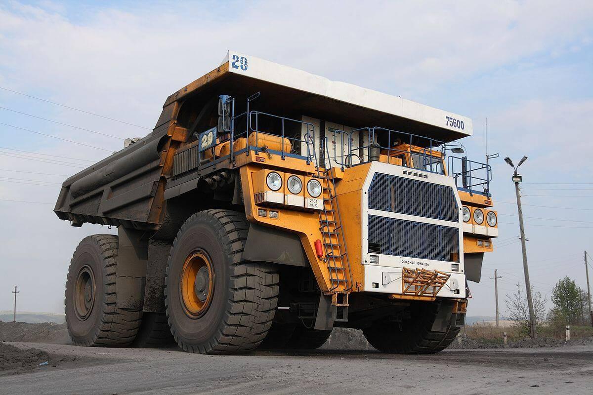 БелАЗ - крупнейшая машина в мире
