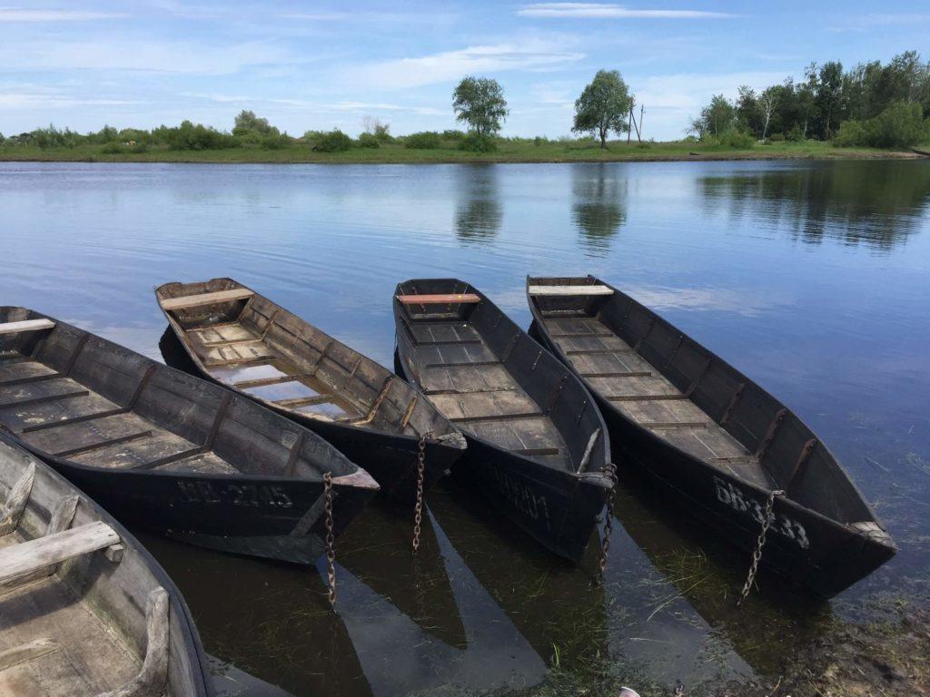 Байдарки, Водные маршруты по Беларуси
