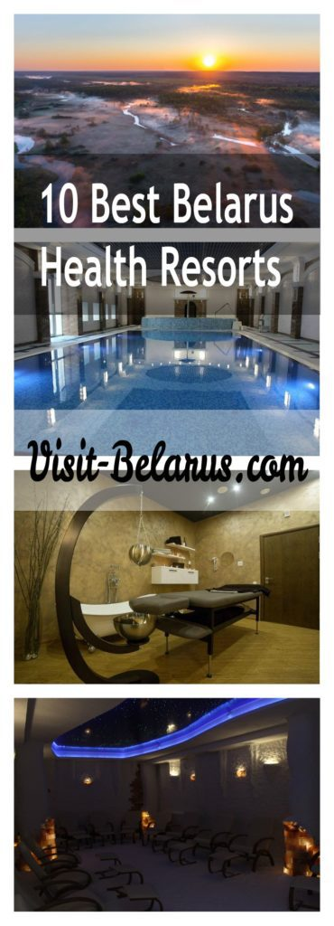 Belarus health centers, spa, swimming pool and beautiful nature
