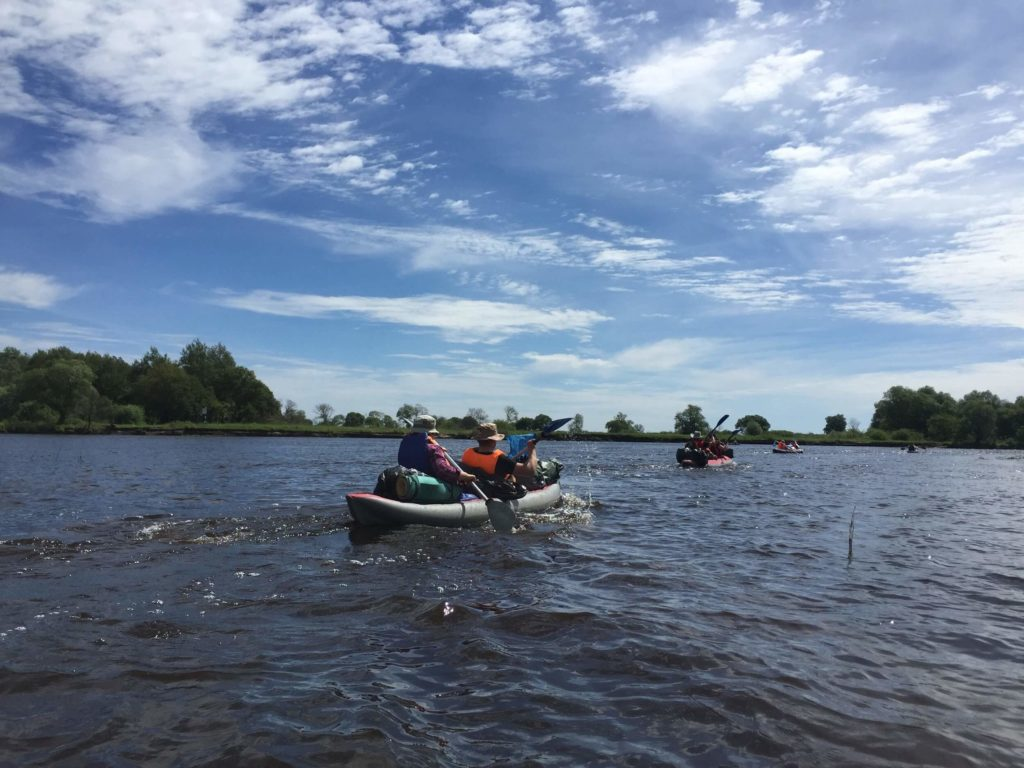 Water routes, kayaking in belarus