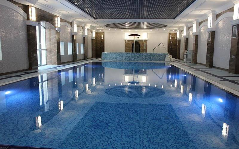 Pool in Radon Health Resort in Belarus