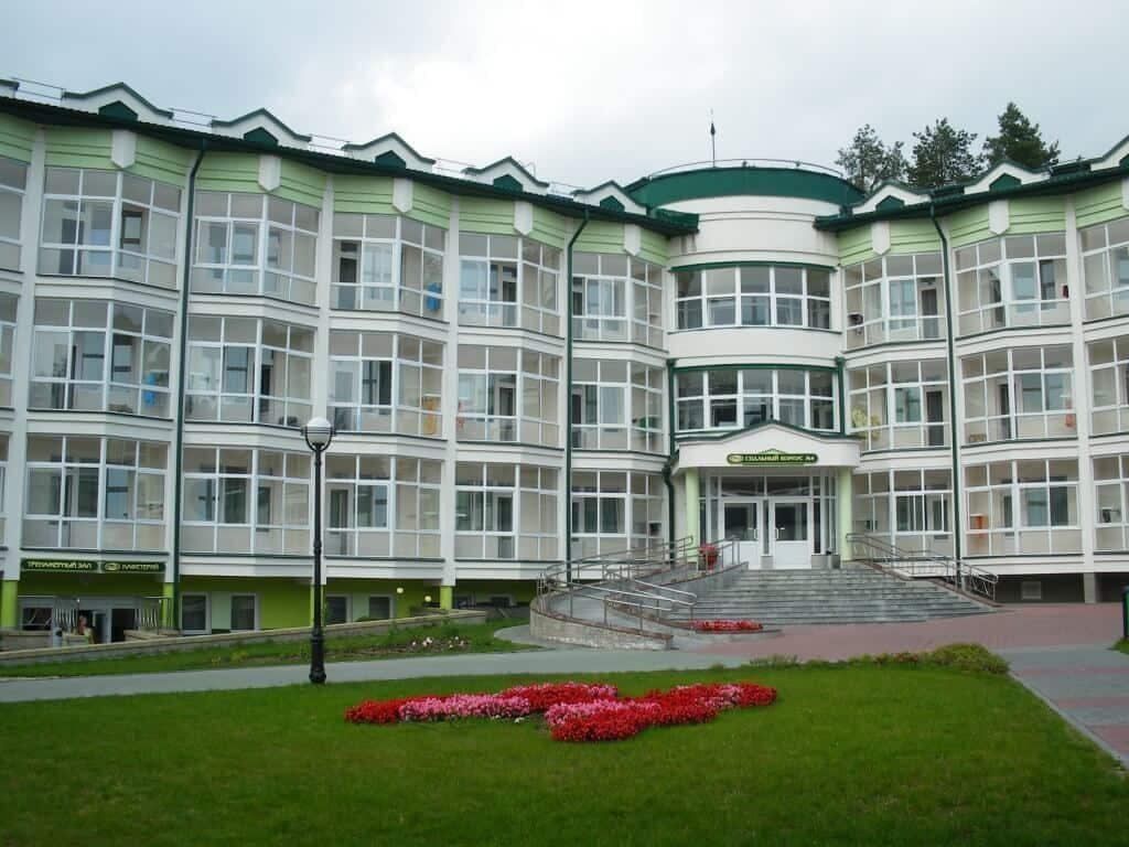 Спальный корпус Ружанского санатория