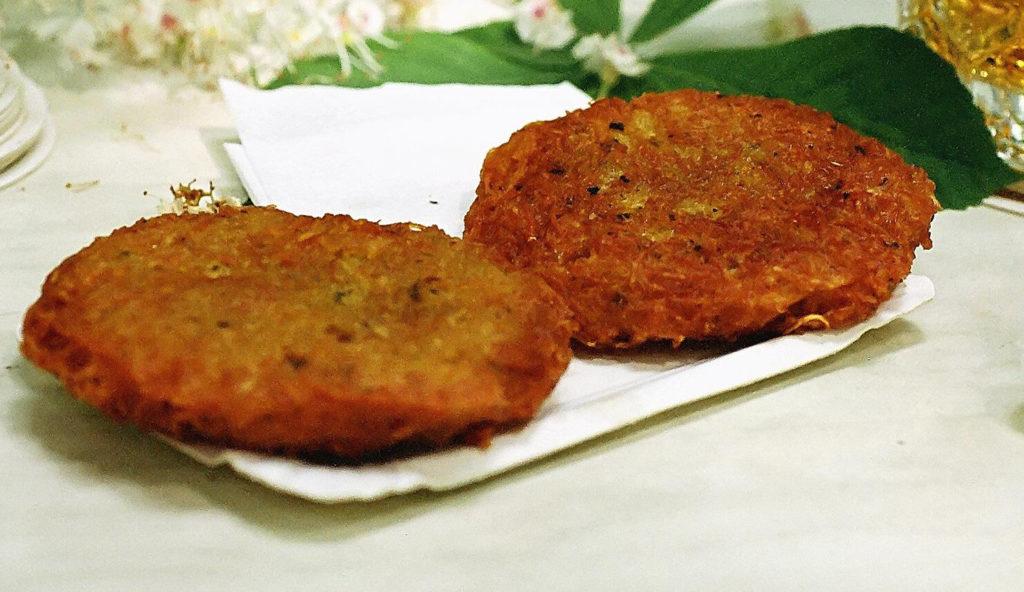 draniki national cuisine in Minsk