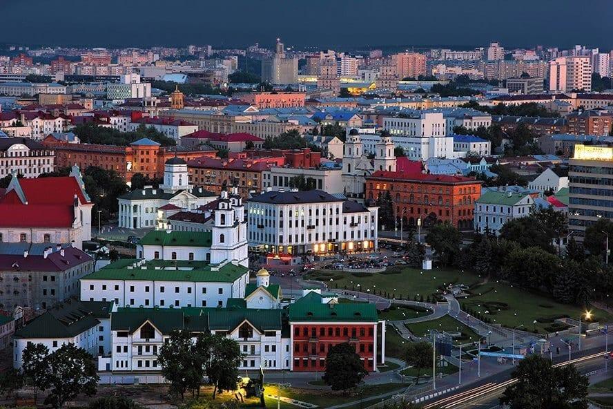 Historical center of Minsk