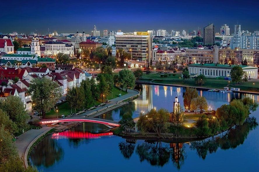 Сколько стоит 1 день в Минске. Река свислочь
