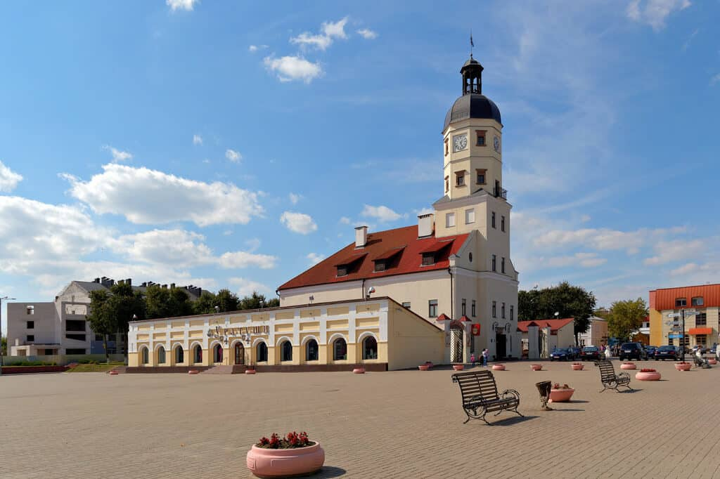 Main square of Nesvizh