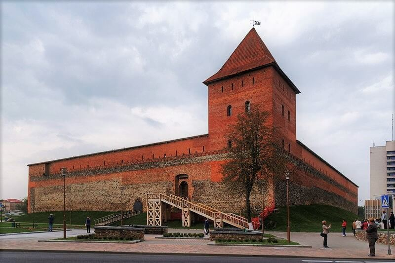 Lida castle from the outside