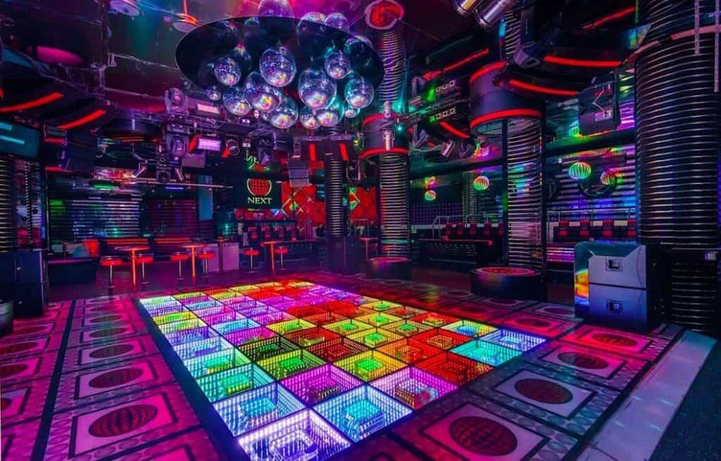 Empty Next Club in Minsk
