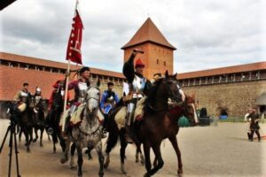 Knight festival in Lida castle