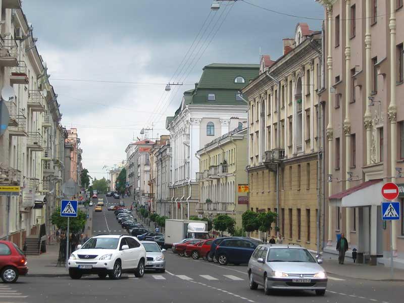 улицы Беларуси