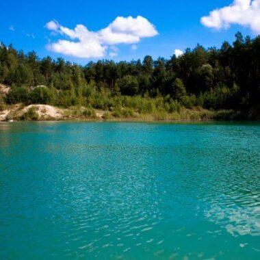 Голубые озера в Беларуси