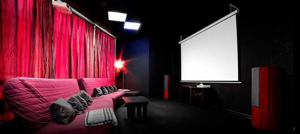 Кинокомната в офисном центре Парус, Минск
