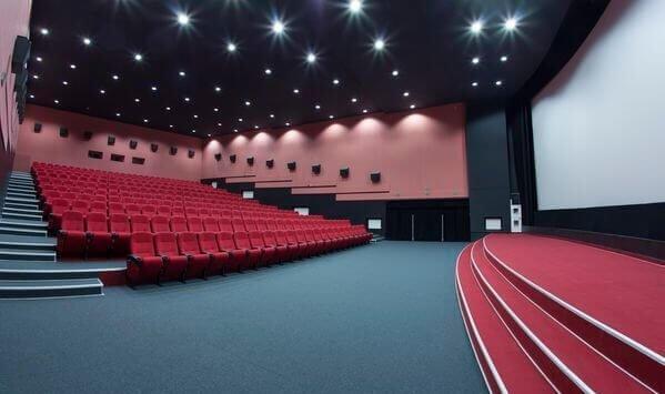 Кинотеатр Киев в Минске, внутри