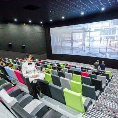 Силвер Скрин, один из самых современных кинотеатров Минска