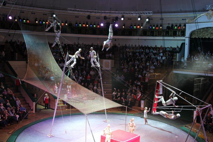 State Circus in Minsk, family activities in Belarus