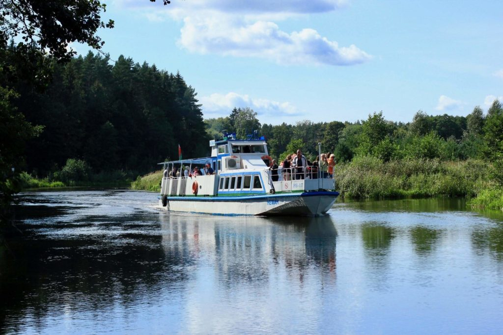 Motor vessel cruise on the Augustow canal
