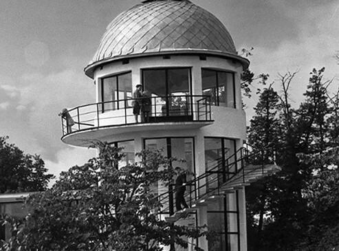Обсерватория в парке Горького, Минск, Беларусь