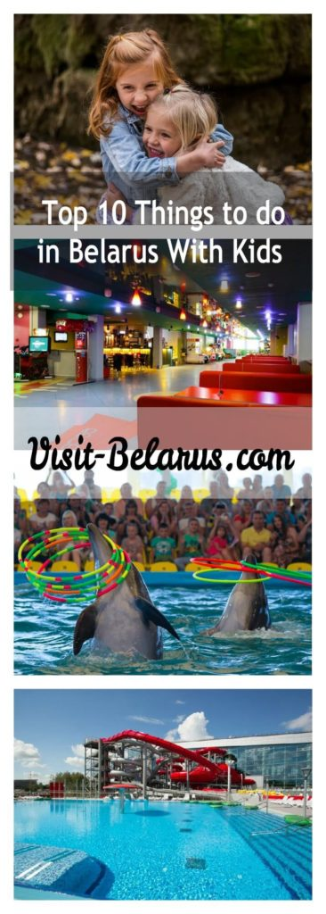 family activities and things to do in Belarus with kids, collage