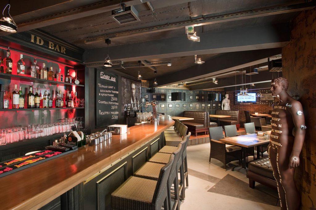 уникальный бар с винной картой