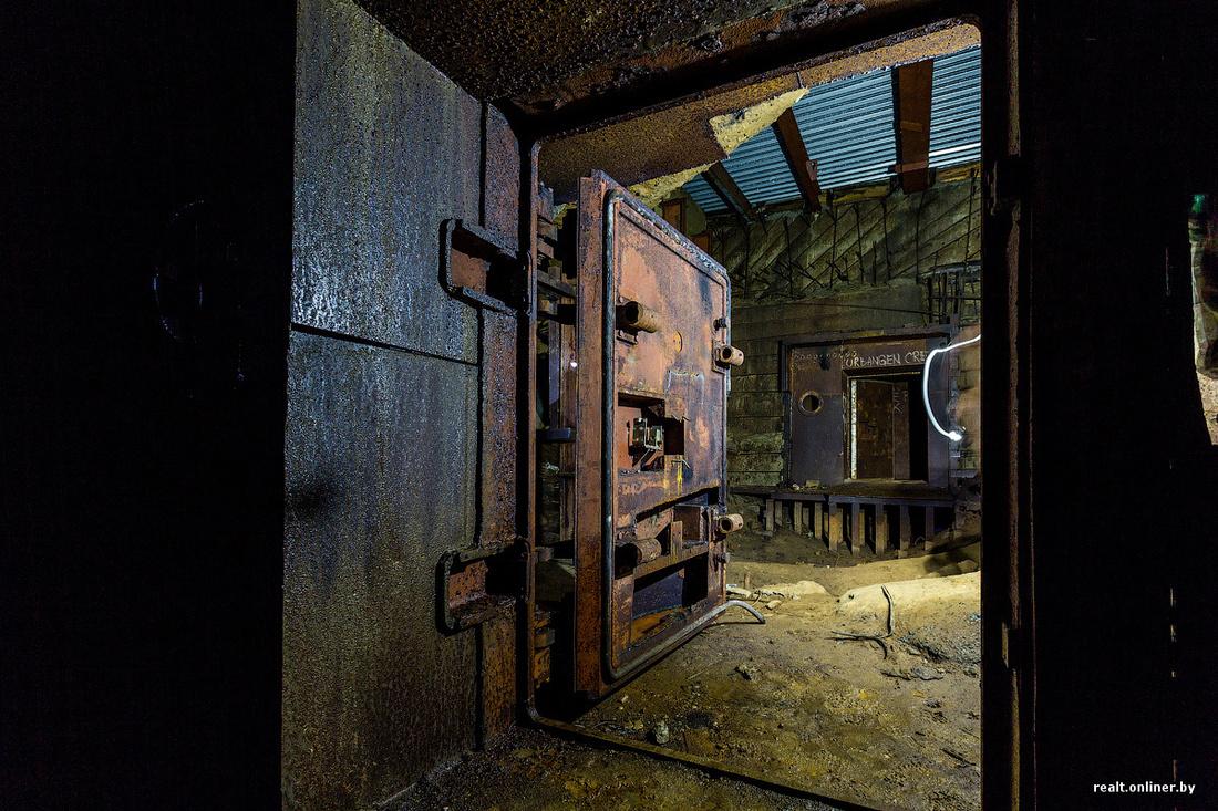 самый глубокий бункер в Беларуси