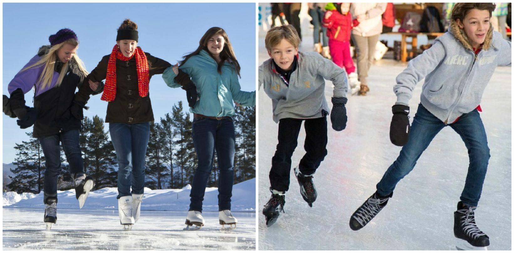 катание на коньках в минске