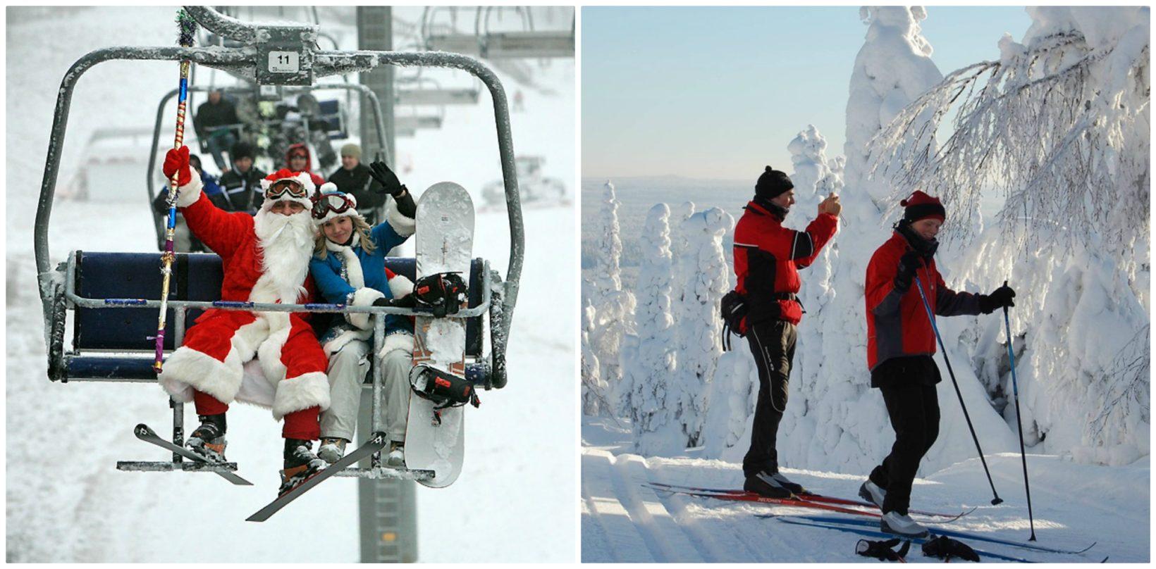 лыжные трассы в минске