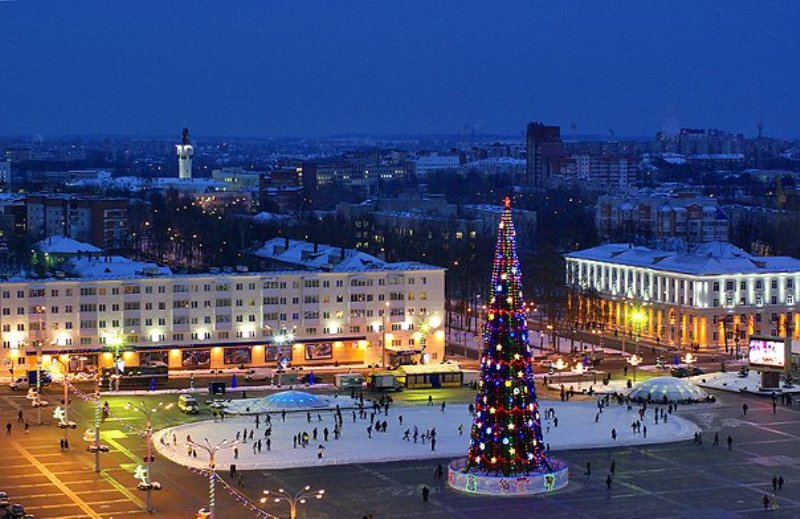 new year square in vitebsk