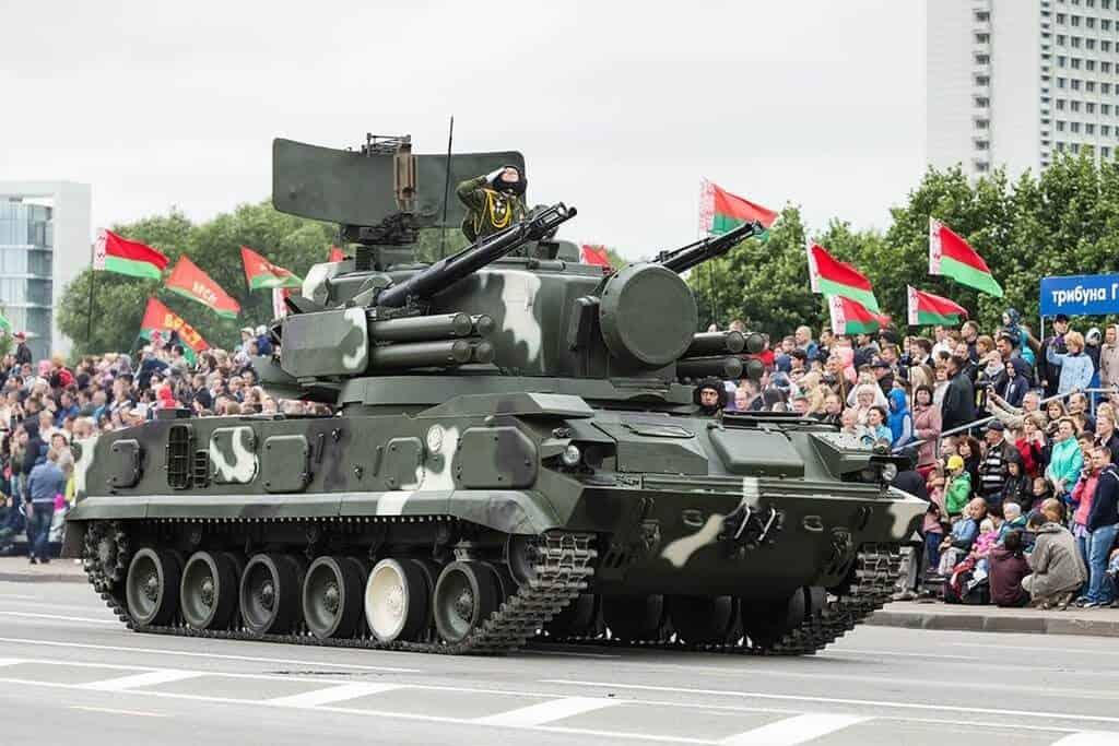 День независимости летом в Минске, Беларусь