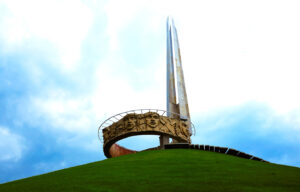 Mound of glory near Minsk, opinions about Belarus