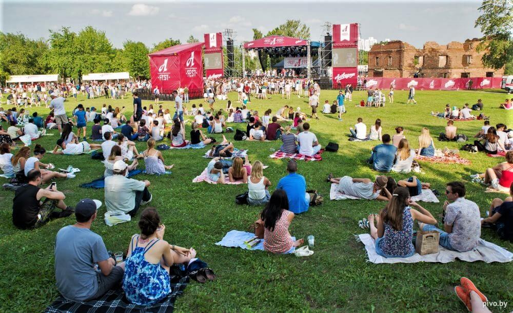 Afest beer festival in Minsk