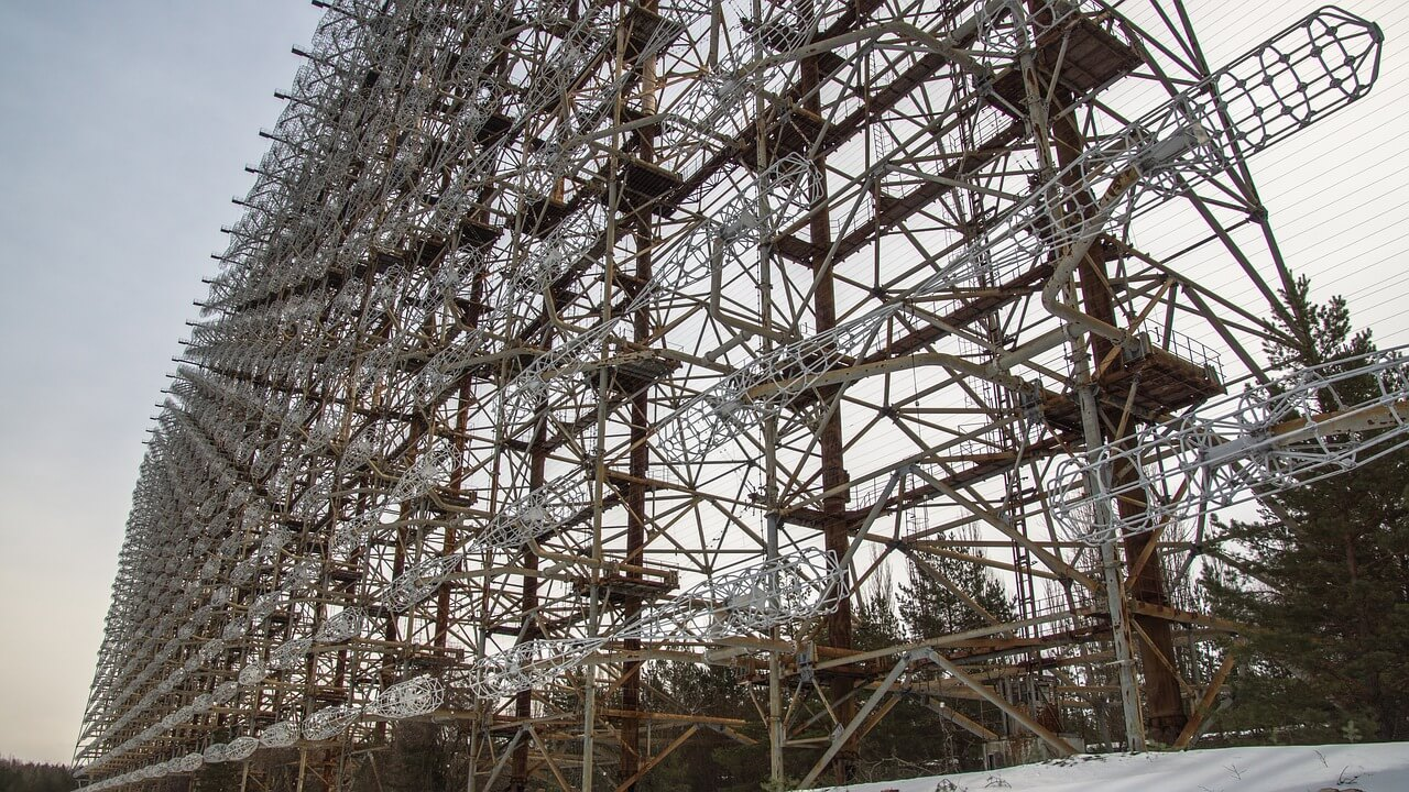 Chernobyl, metal construction