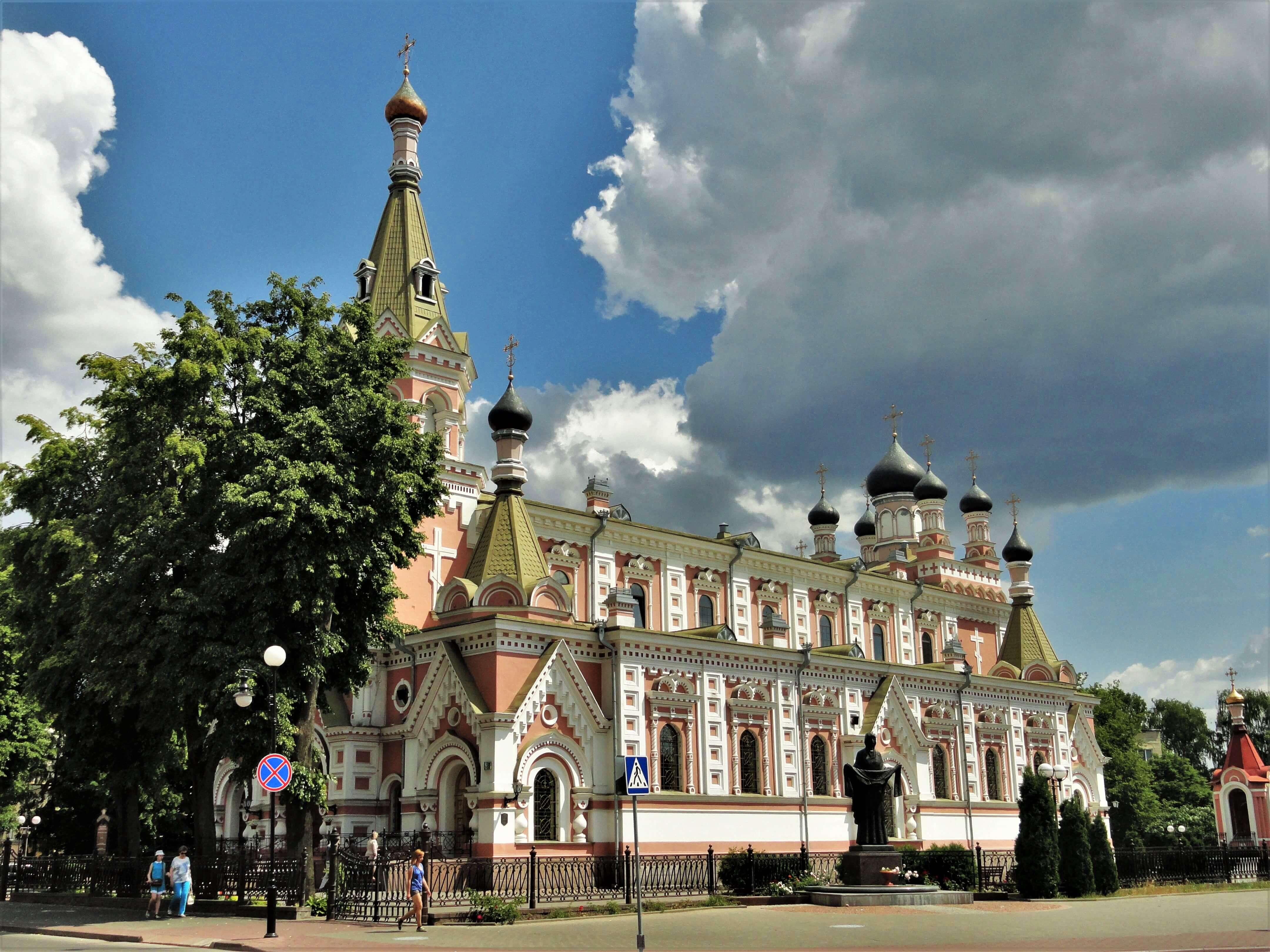 Свято-Покровский кафедральный православный собор, достопримечательности Гродно