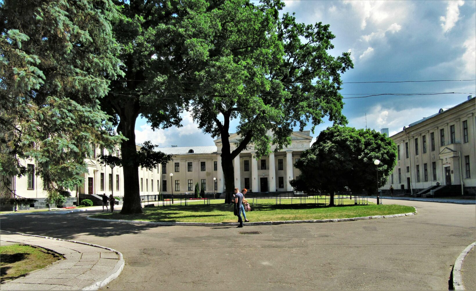 New castle in Grodno