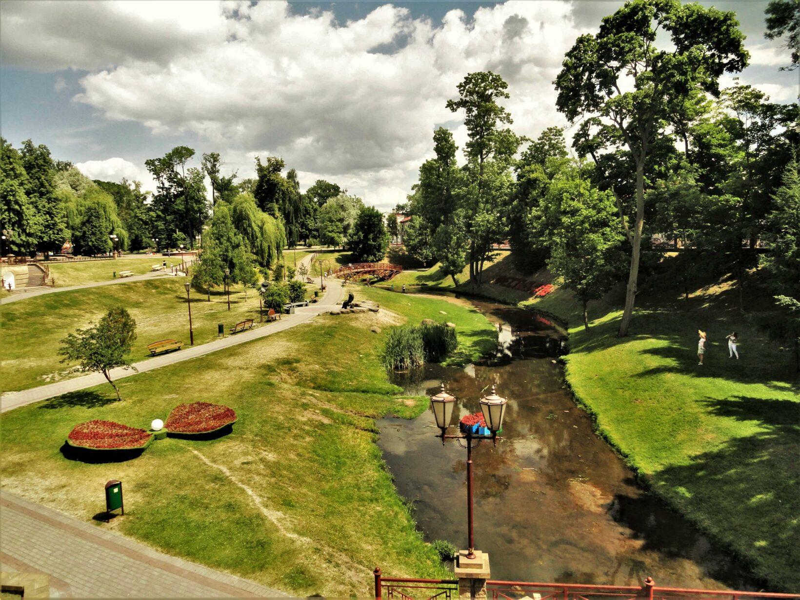 Парк Жилибера в Гродно